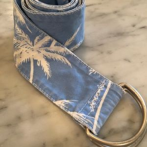 Palm tree belt